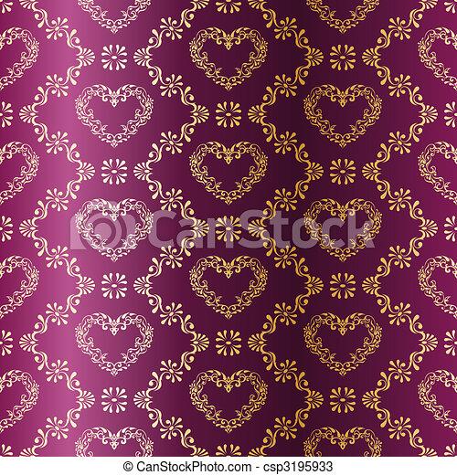 vektoren von gold auf lila seamless sari muster mit. Black Bedroom Furniture Sets. Home Design Ideas