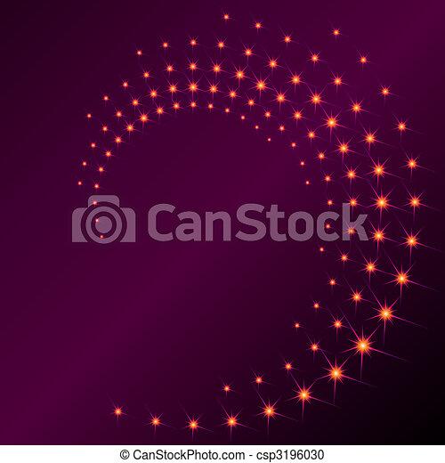 Sparkly spiral - csp3196030