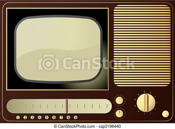 Retro TV - csp3196440