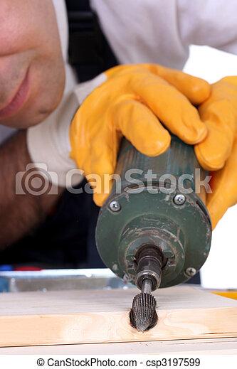 milling machinist  - csp3197599