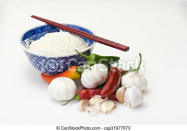 Asian ingredients - csp31977073