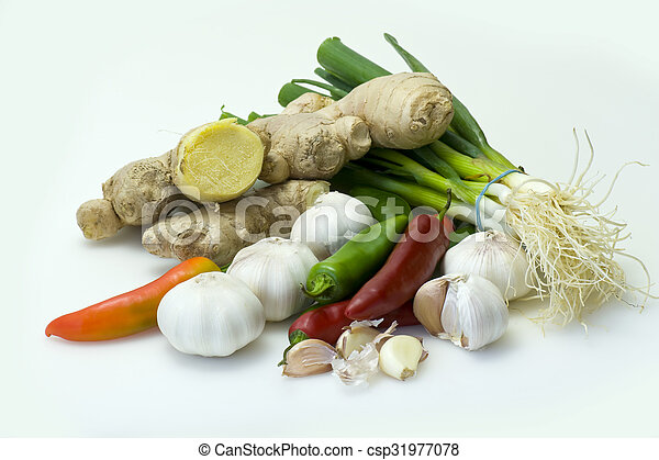 Asian ingredients - csp31977078