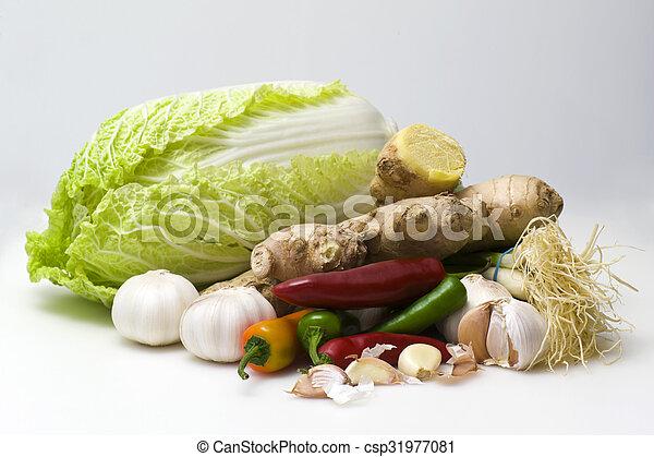 Asian ingredients - csp31977081