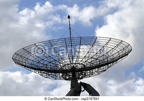 Communication radar - csp3197841