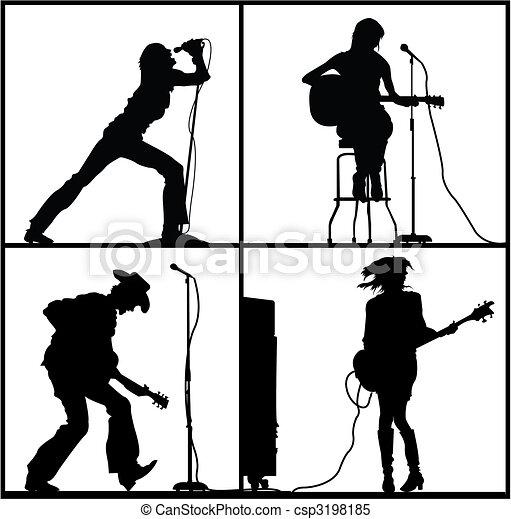 rock festival - csp3198185