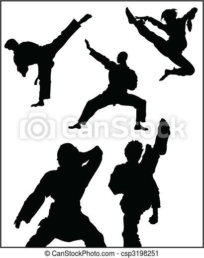 Karate - csp3198251