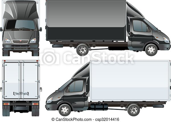Delivery Cargo Truck - csp32014416