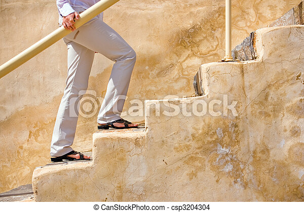 Up the stairs - csp3204304