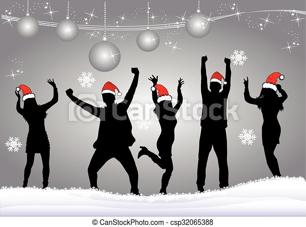 Christmas Party - csp32065388