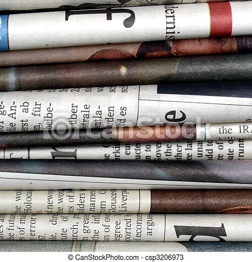 Newspapers - csp3206973