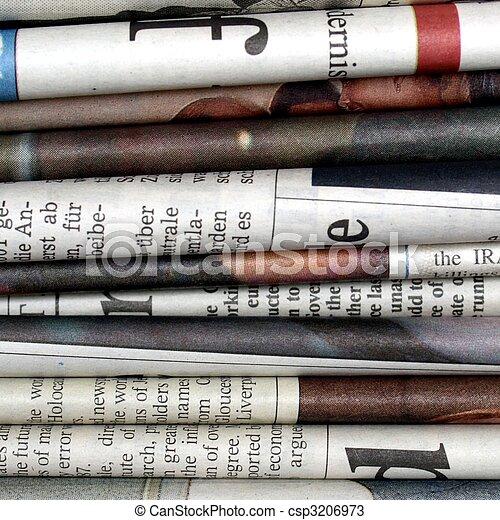 Newspapers - csp3206973