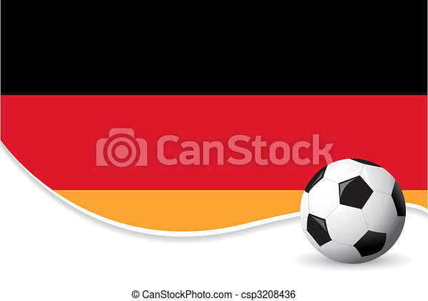 Germany world cup background - csp3208436