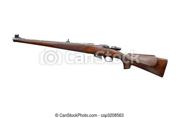 hunting rifle - csp3208563