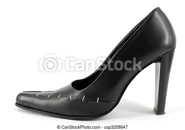 woman high heel shoe - csp3208647