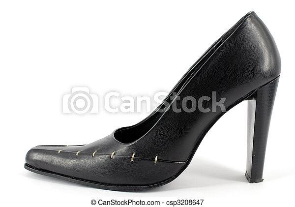 woman high heel shoe - csp3208647