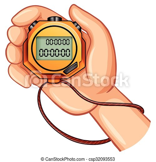 vecteur clipart de chronom u00e8tre  main chronom u00e8tre  dans stopwatch clip art free images stopwatch clip art free