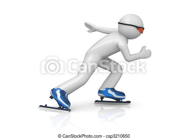 Skater speeding up - csp3210650