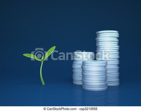 Growing funds / investments - csp3210656