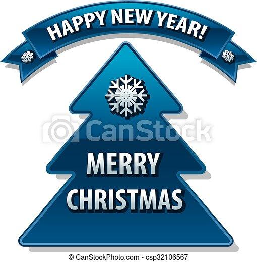 christmas card - csp32106567