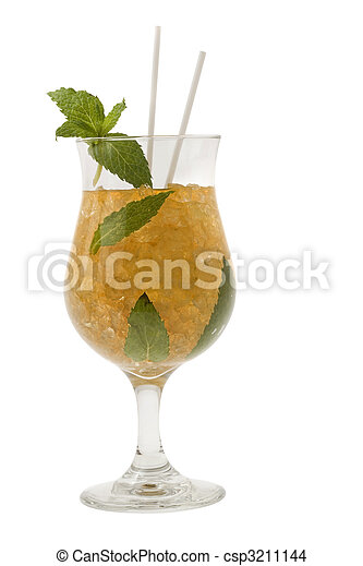 Mint Julep Cocktail - csp3211144