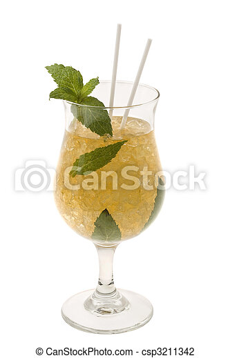 Mint Julep Cocktail - csp3211342