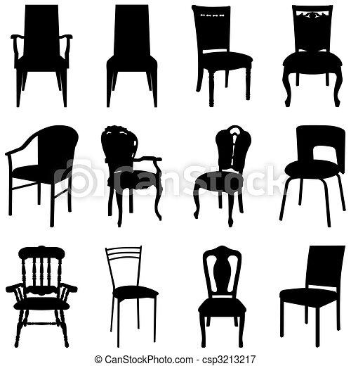 Ilustra 231 227 O Vetorial De Cadeiras Jogo Cobran 231 A De Diferente Cadeiras Csp3213217