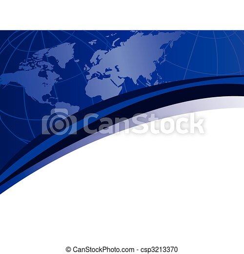 World Map - csp3213370