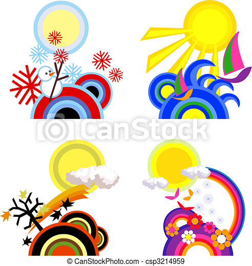 Four Seasons  - csp3214959