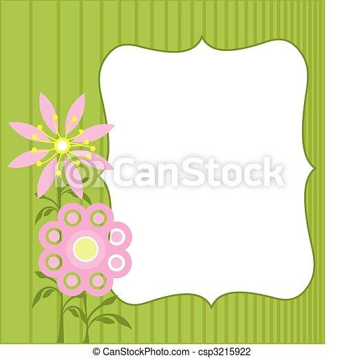 Spring Flowers - csp3215922