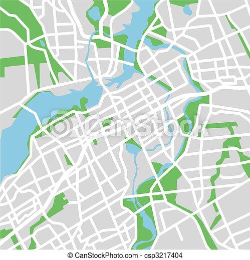 EPS Vector of Ottawa - vector map of Ottawa csp3217404 - Search ...