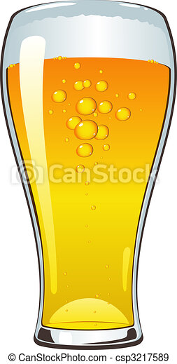 Beer glass - csp3217589