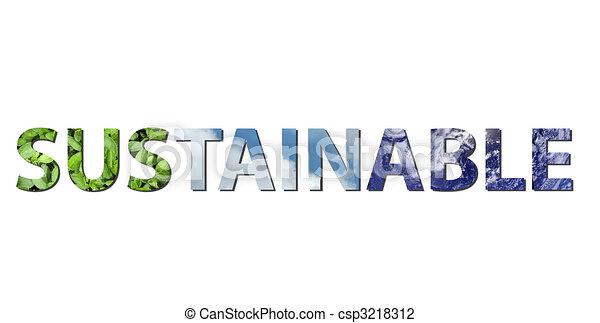 Sustainable - csp3218312