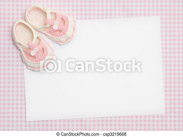 New baby announcement - csp3219668