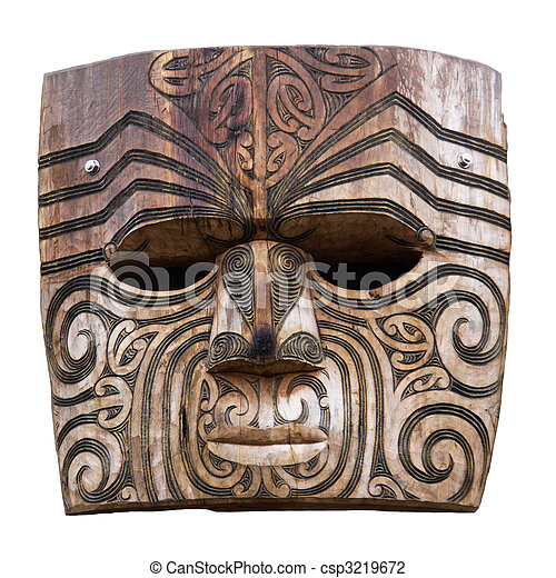 Maori carving - csp3219672