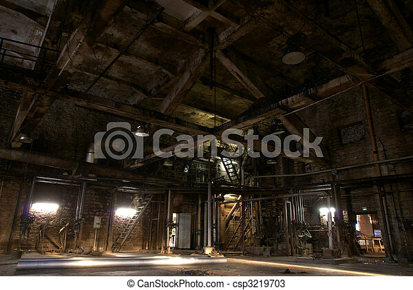 Old abandoned factory - csp3219703