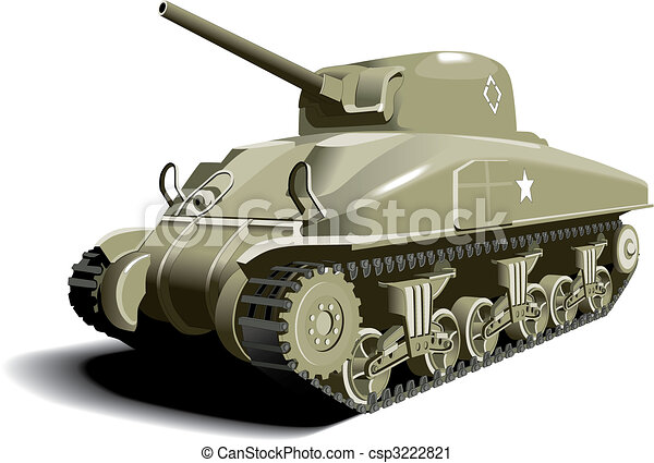 American Tank - csp3222821