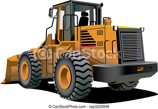 bulldozer - csp3222848