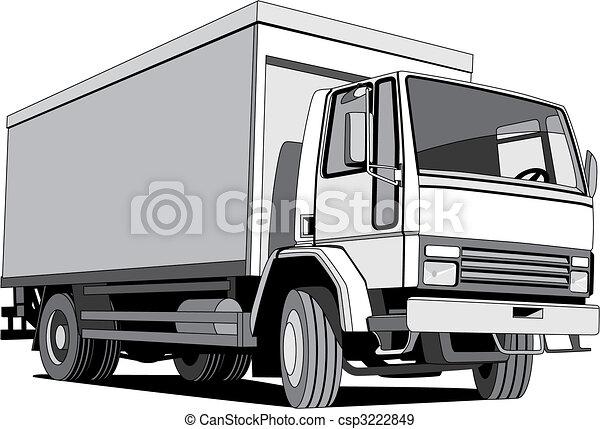 BW furgon - csp3222849