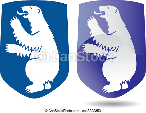 coat of arms of Greenland - csp3222853