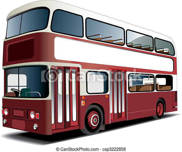 Double-decker bus - csp3222858