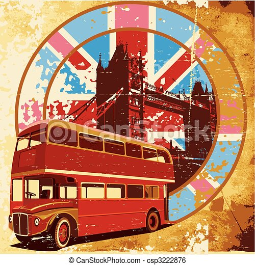 English Style grunge - csp3222876