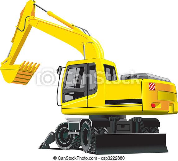 excavator - csp3222880