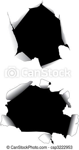 Paper holes - csp3222953