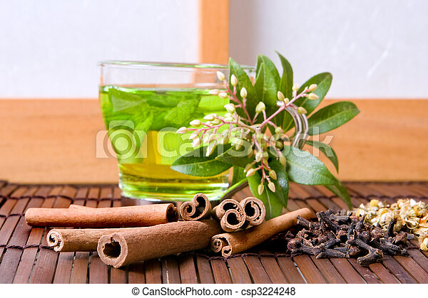 Herbs and tea - csp3224248