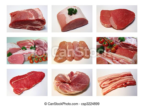 Meat collection - csp3224899