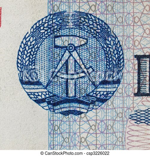 DDR banknote - csp3226022