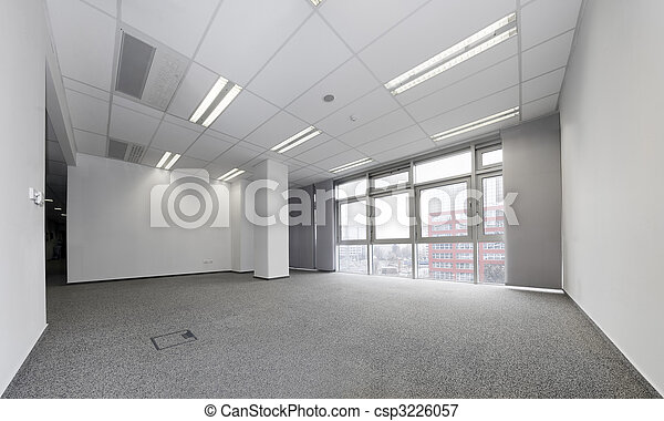Empty office - csp3226057