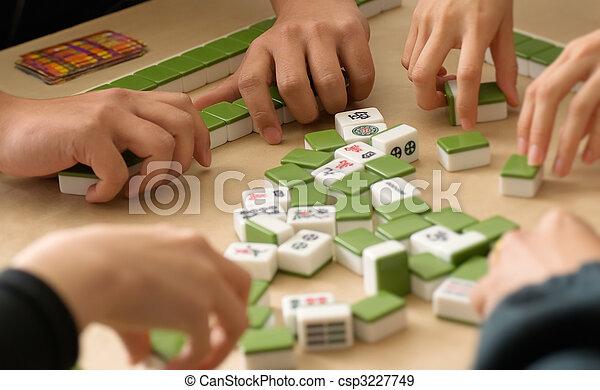 Chinese Gambling - csp3227749