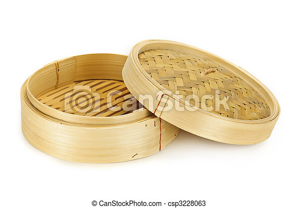 Bamboo steamer - csp3228063