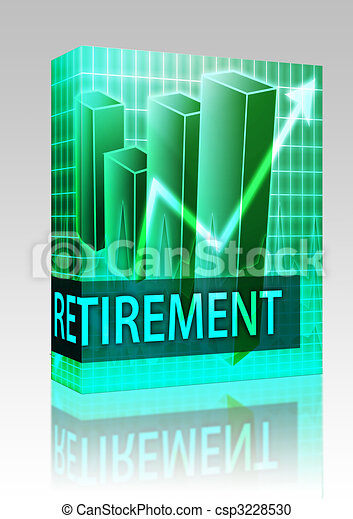 Retirement finances box package - csp3228530